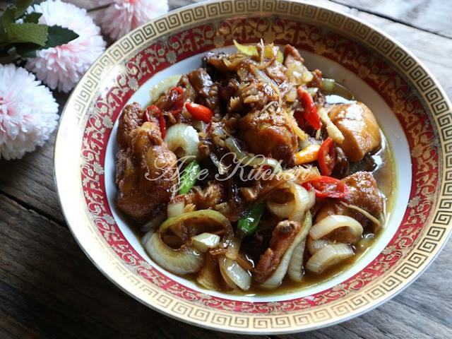 Ayam Goreng Halia