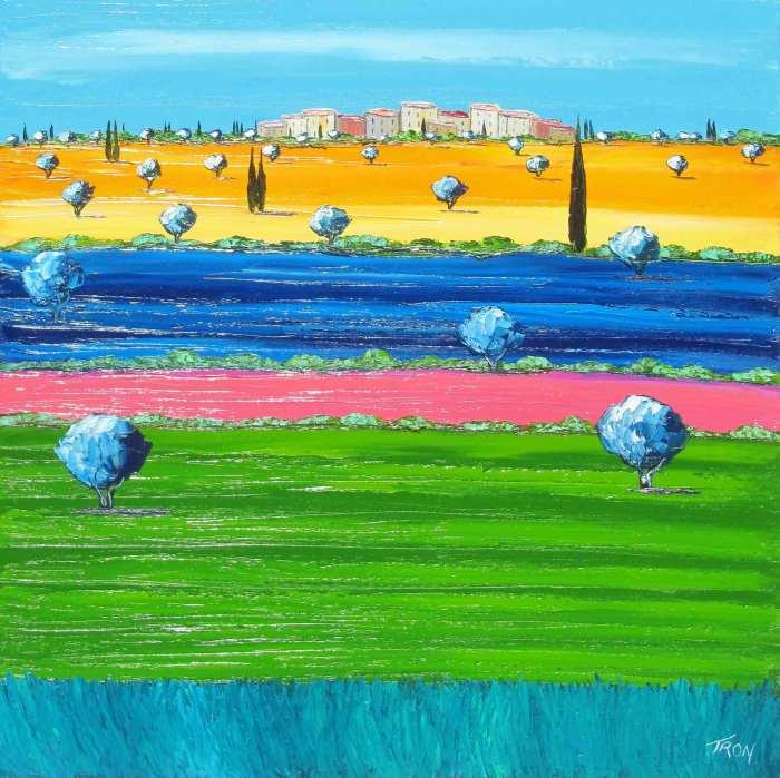 Экстравагантность цвета. Jean-Claude Tron