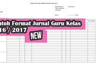 Format Jurnal Harian Kelas Edisi Baru 2017