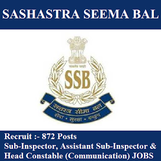 Sashastra Seema Bal, SSB, Ministry of Home Affairs, Government of India, SI, ASI, Sub Inspector, Head Constable, 10th, Assistant Sub Inspector, freejobalert, Sarkari Naukri, Latest Jobs, Hot Jobs, Force, ssb logo