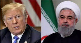 The Us president Donald  Trump announced new sanctions designed to punish both Iran and Syria and cortail illicit oil sales.