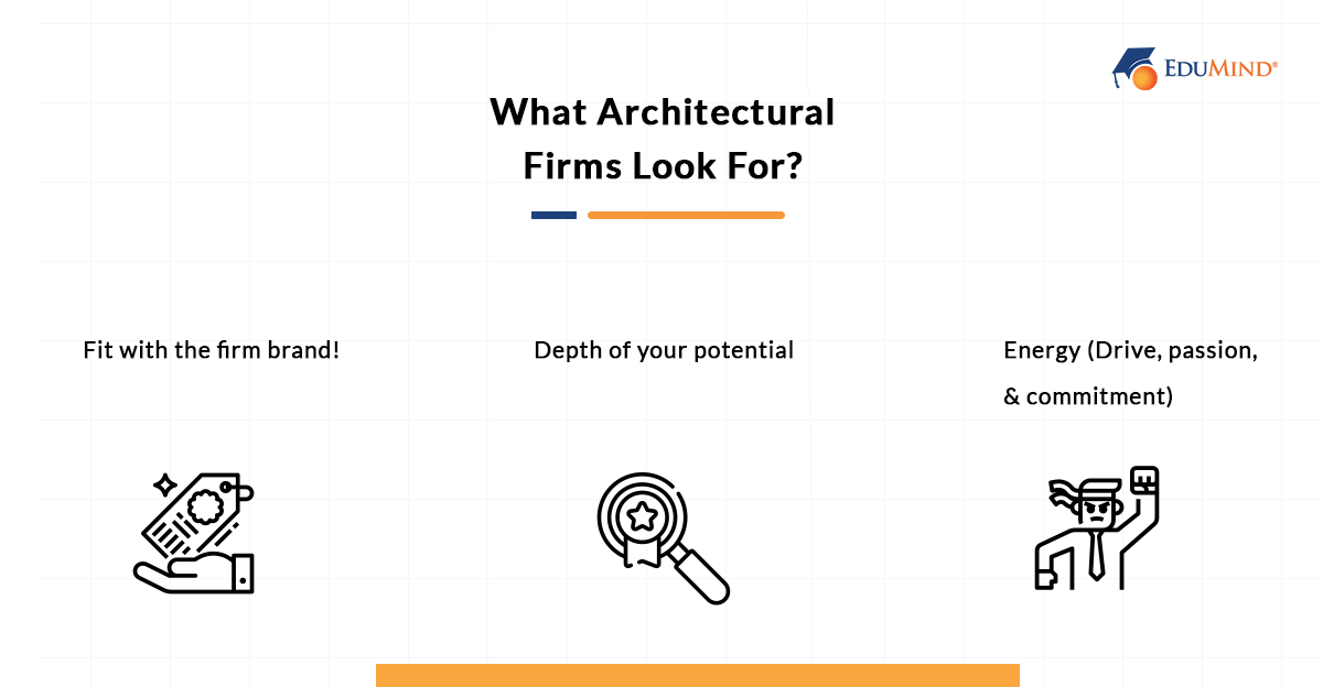 What Architectural Firms Look For