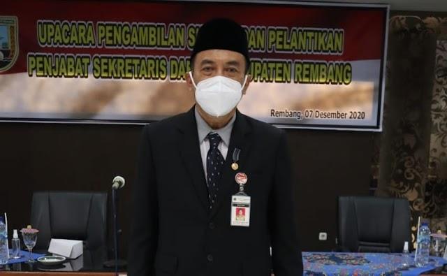 Edy Supriyanta Dipilih Oleh Ganjar Pranowo sebagai Plh. Bupati Rembang