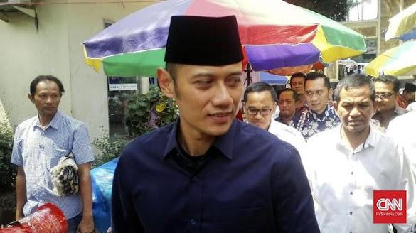 AHY Antar Prabowo-Sandiaga Daftar ke KPU