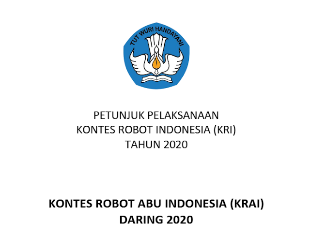 petunjuk pelaksanaan kontes robot abu indonesia krai tahun 2020 pdf tomatalikuang.com