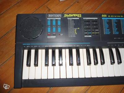 La tastiera Bontempi System 5