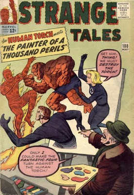 Strange Tales #108, the Human Torch