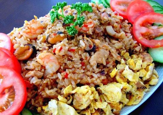 resepi nasi goreng seafood special