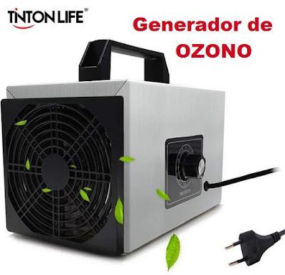 Generador de ozono a mitad de precio (+ descuento extra)