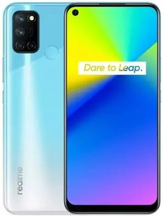 التصميم والشاشة هاتف Realme 7i