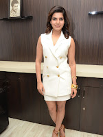 Samantha dazzling in white at 24 event-cover-photo