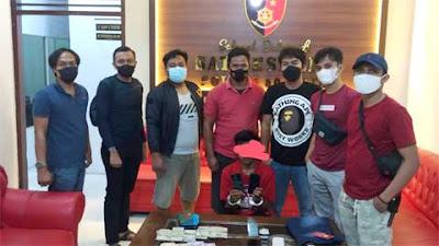 Satreskrim Polres 50 Kota Tangkap Pemuda Belasan Tahun Diduga Pencuri