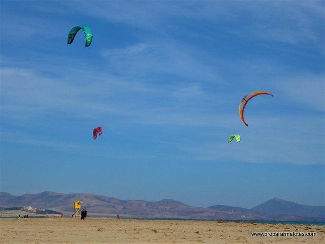 ruta de playas en vacaciones en Fuerteventura