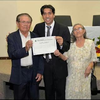 Em Cacimba de Dentro o prefeito Nelinho Costa é diplomado para segundo Mandato