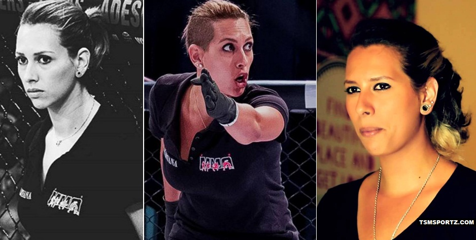 Charyana Gamballe Hottest MMA referees