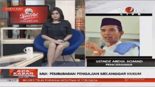 Penolakan di Bali: Ditanya Host tvOne, Apa Ustad Trauma? Jawaban Ust. Abdul Somad Bikin Merinding