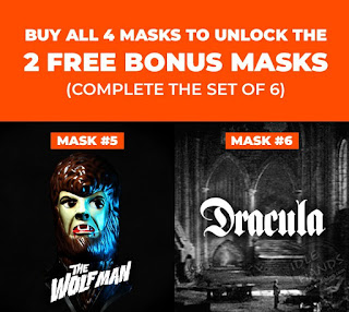 NECA's Limited-Edition Universal Monsters Mask Series The Wolf Man
