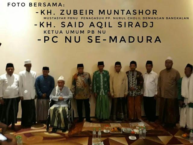 Ketum PBNU: NU Bangkalan Sebagai Penjaga Islam Aswaja dan NKRI