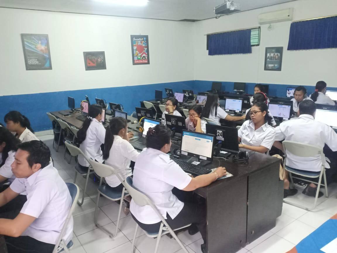 Simulasi Asesmen Kompetensi Minimal Akm Untuk Guru Guru Mata Pelajaran Smk Ti Bali Global Badung