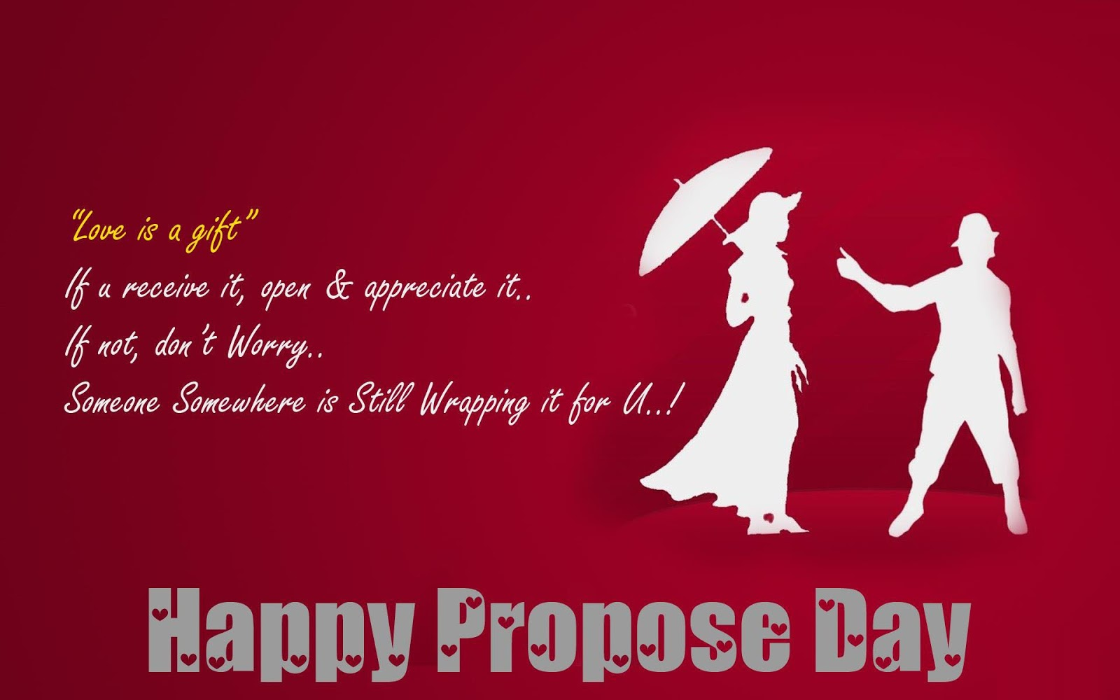 something special for propose day