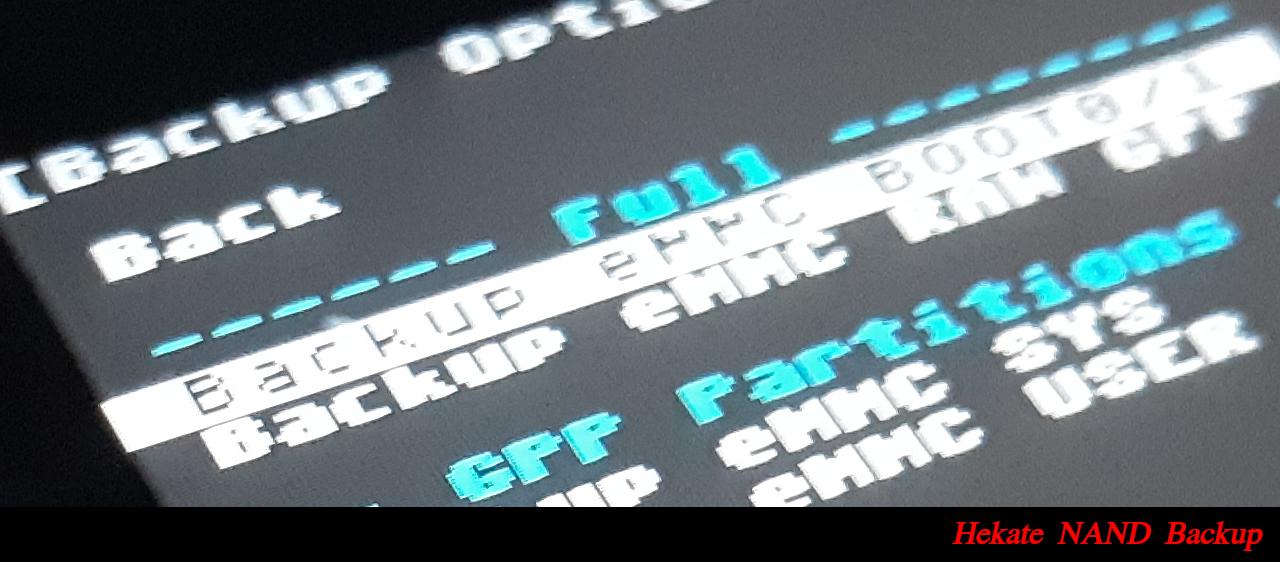 Nintendo Switch emuMMC NAND Guide