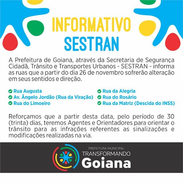 Goiana: Informativo do  SESTRAN