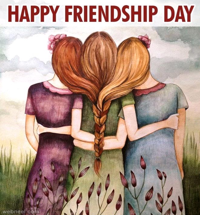 1 August 2021 Best 30 Friendship Day Wallpaper's, Status..