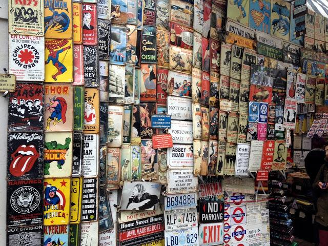 Mercado de Portobello en Londres
