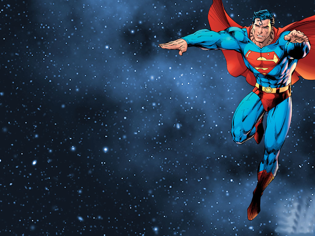 Superman desktop wallpaper ~ Superhero