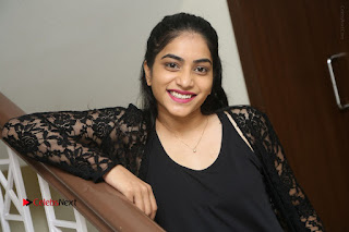Actress Punarnavi Bhupalam Stills in Black Dress at Pittagoda Press Meet  0161.JPG