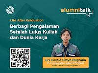 LNG Academy Alumni Talk: Eri Kurnia Satya Nugraha, PLN Lampa-Nipa, Sulawesi Tenggara