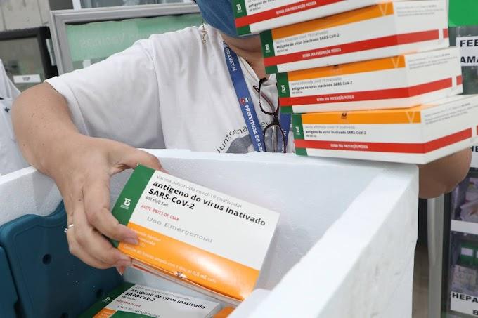 Gravataí recebe novas doses e vai vacinar mais 1.472 pessoas dos grupos prioritários