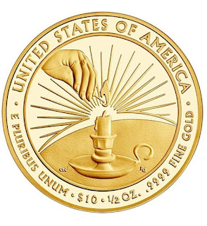 United States Gold Coins Eleanor Roosevelt 10 Dollars First Spouse Gold Coin