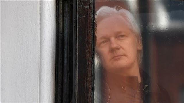 WikiLeaks founder Julian Assange arrested by British Metropolitan Police Service at Ecuadorian embassy in London