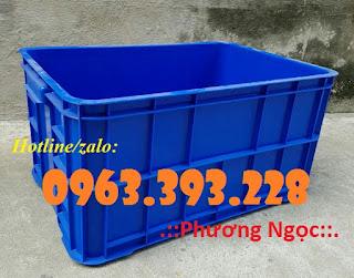 Thùng nhựa đặc cao 31 có nắp, thùng đựng phụ tùng cơ khí 2b95c0959c667e382777