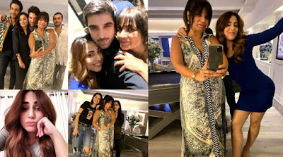Actress Ushna Shah Chill Pictures with Frieha Altaf