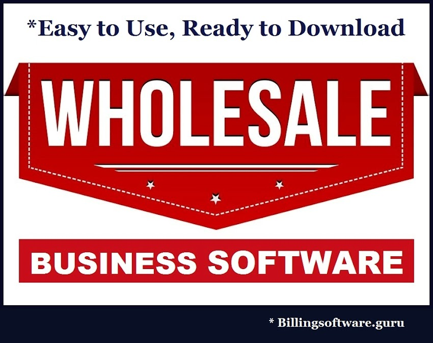 Wholesale Business Software
