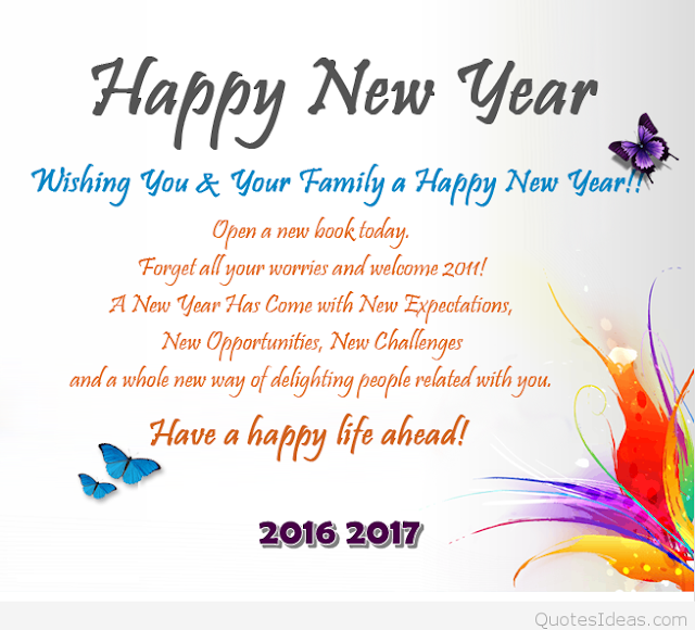 New Year 2017 Image Messages