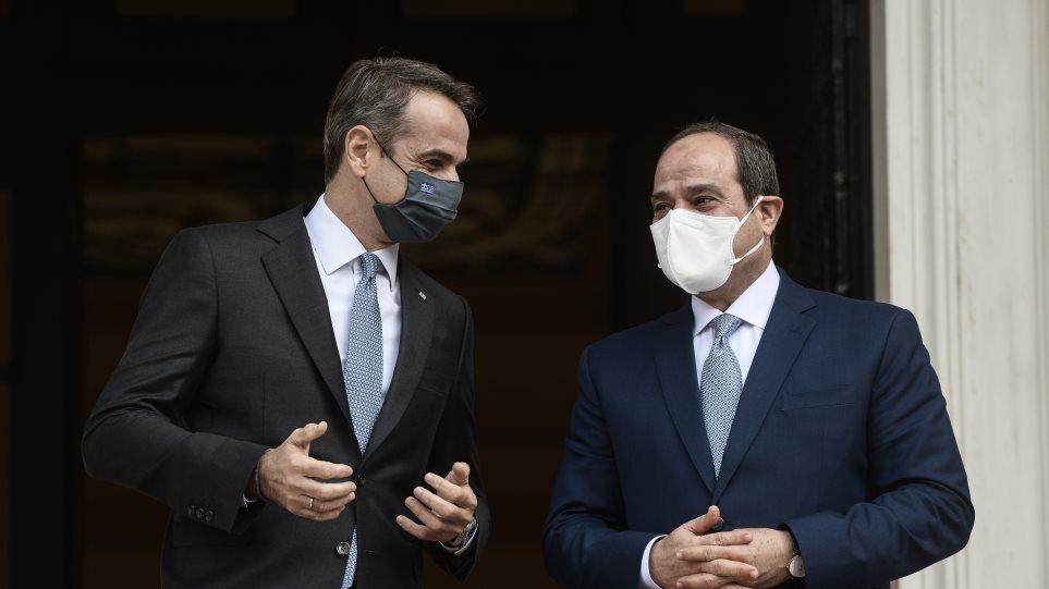 Σίσι: Η Αίγυπτος θα σταθεί δίπλα στην Ελλάδα