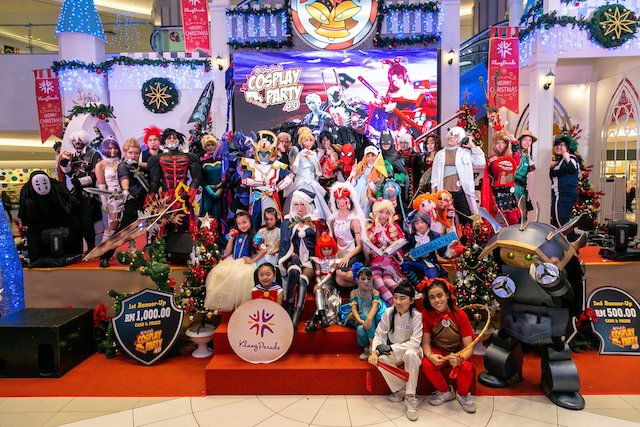 Picture from the previous Klang Parade Cosplay Party 4.0