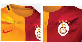 berita bocoran jersey musim depan Jersey Kandang Galatasaray 2015/2016