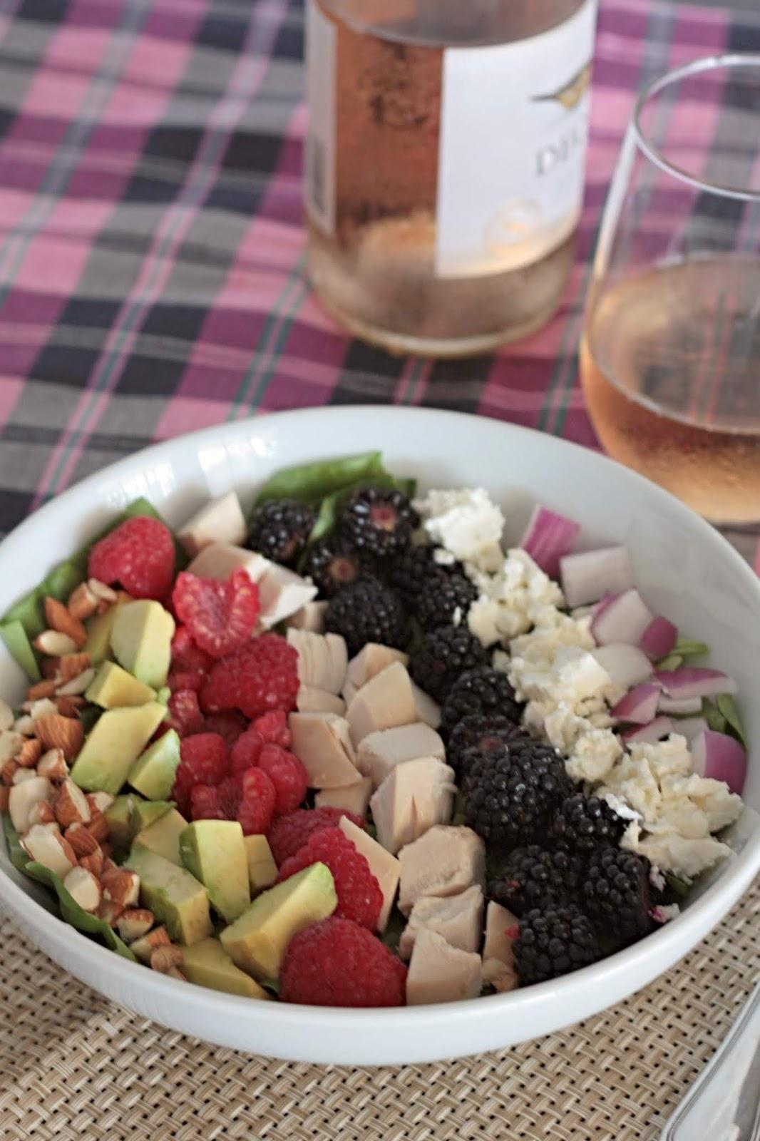 berry cobb salad