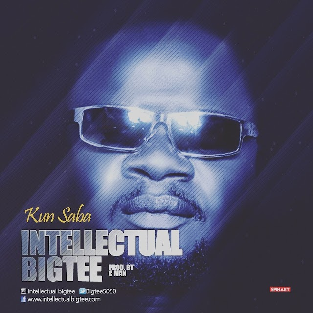 Kun Saba- INTELLECTUAL BIG TEE