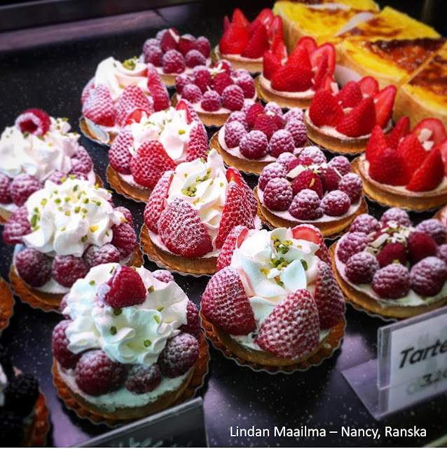 Leivoksia Nancyssa, Ranskassa