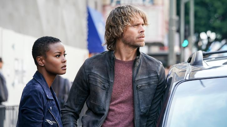 NCIS: Los Angeles - Episode 9.17 - The Monster - Promotional Photos + Press Release