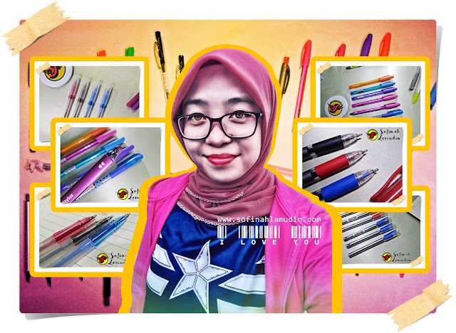 Blogger Malaysia Review Alat Tulis | Stationery Addict | Stationery Lover | Review Alat Tulis Malaysia