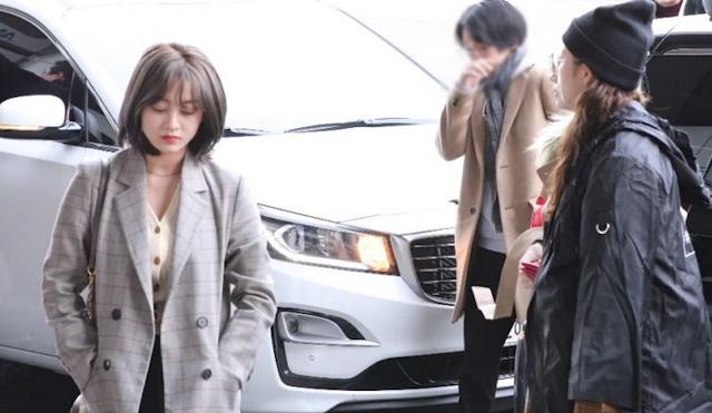 Kasus Jihyo saat Tiba di Bandara Internasional Gimpo Yang Viral di Twitter