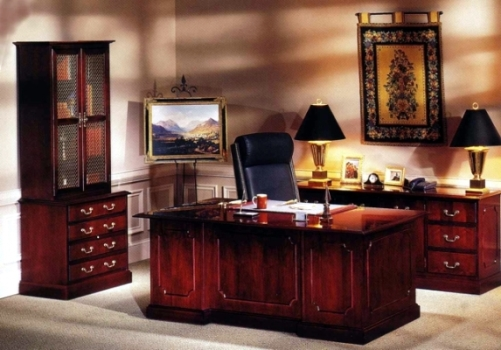 solid cherry office furniture