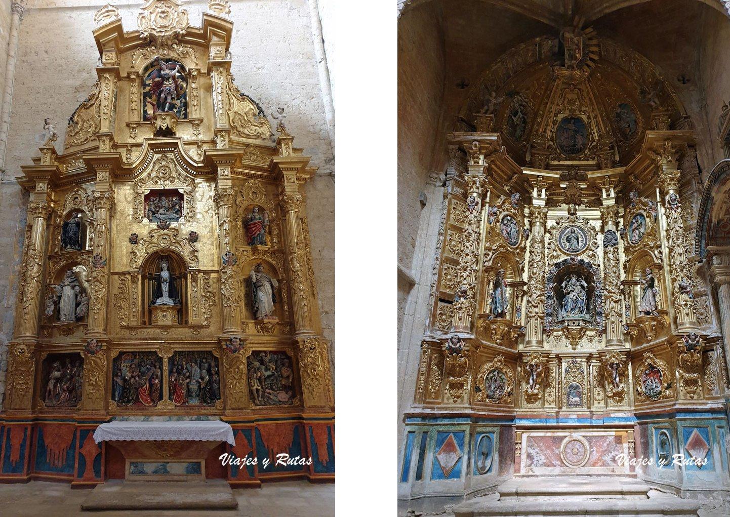 Retablos de San Hipólito el Real de Támara de Campos