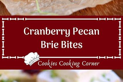 Cranberry Pecan Brie Bites